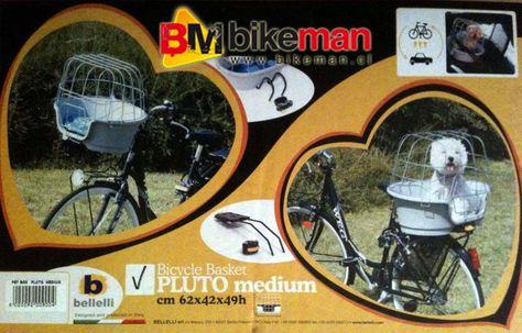 30a1f95d2fb Bikeman.cl - Canastillo Porta Mascotas para tu Bici   DIY   Porta ...
