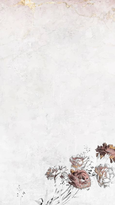 Blank floral shimmering mobile phone wallpaper vector | premium image by rawpixel.com / NingZk V. #vector #vectoart #digitalpainting #digitalartist #garphicdesign #sketch #digitaldrawing #doodle #illustrator #digitalillustration #modernart #background