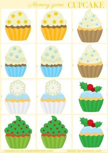 Christmas Memory Game Free Printable Christmas Memory