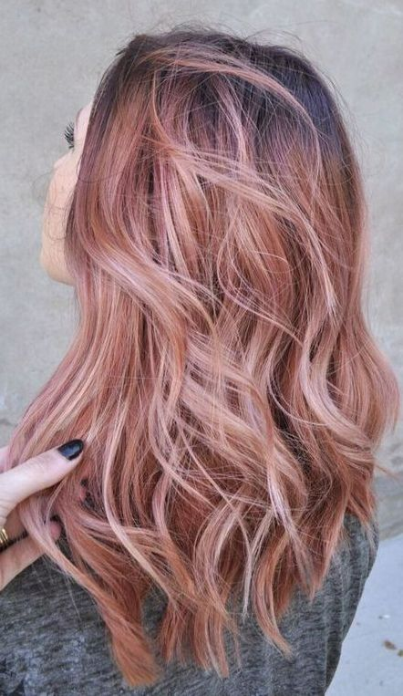20 Rose Gold Hair Inspiration For You Hair Styles Hair Color