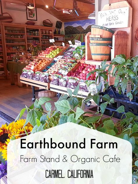 Earthbound Farms Farm Stand - Carmel, California