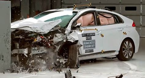 Hyundai Ioniq Hybrid Joins Top Safety Pick Plus Honor Roll