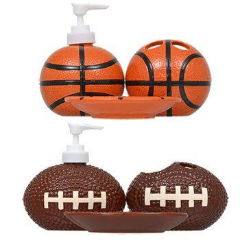 Elegant Dolomite Sports Themed Bathroom Accessories   Soap Dish / Basketball | Bathroom  Accessories