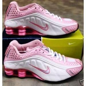 novo nike shox feminino rosa