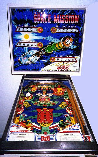 Space Mission Pinball.