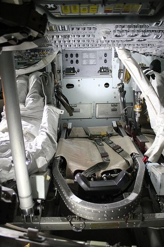 Apollo 13 CSM-109 Odyssey interior | Space Exploration