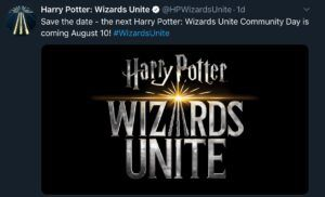 Wizards Unite August Community Day All About Fortresses Potterhead Day Healing Potion