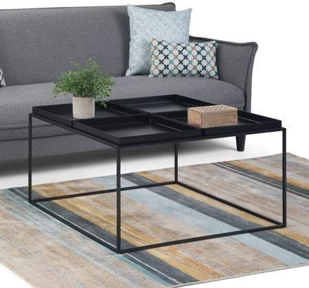 Home Large Square Coffee Table Furniture Home Coffee Tables
