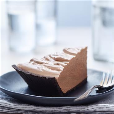 Chocolate Truffle Pie Recipe With Images Favorite Pie Recipes Milk Recipes Chocolate Truffle Pie Recipe