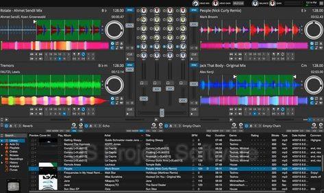 Professional DJ Mixing Software Mixer MP3 Audio Beat Windows /& MAC