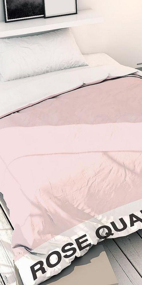 Bettwäsche »Rose Quartz«, Juniqe | Einrichtungsideen Schlafzimmer ...