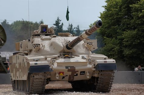 Khalid Tank | by jw021979 Operated by a crew of three and armed with a 125 mm smooth-bore tank gun that is reloaded automatically, the tank uses a modern fire-control system integrated with night-fighting equipment and is capable of firing many types of anti-tank rounds as well as guided anti-tank missiles. Al-Khalid is named after the 7th-century Muslim commander Khalid bin al-Walid (592–642 AD).[