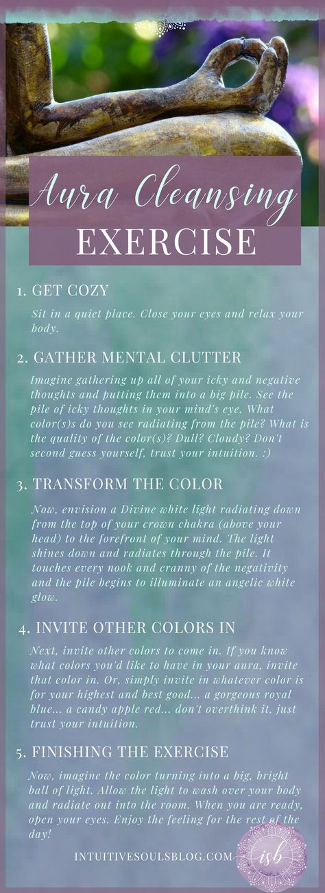 Aura Cleansing Ideas that Will Take Your Aura from Drab to Fab