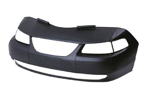 Carbon Fiber Black Colgan Custom Fit Original Front End Mask for Select Volkswagen Eos Models