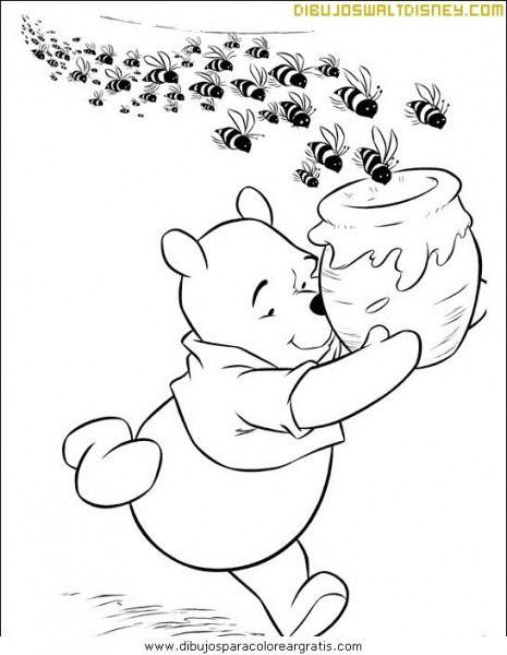 Dibujo De Tarro De Miel Para Colorear Imagenes De Winnie Pooh Dibujos Tumblr Para Colorear Tarros De Pintura