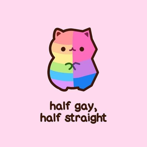 Artist Shares What Being Bisexual Is Like Through Her Cute Cat Illustrations - I Can Has Cheezburger?