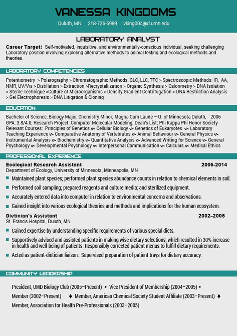 Our resume templates have helped thousands of job applicants get - dna analyst sample resume