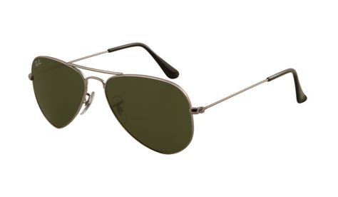 fc542ef3492 Ray Ban RB3044 Aviator Sunglasses Gunmetal Frame Crystal Deep Green Lens -  Up to 86% off Ray ban sunglasses for sale online