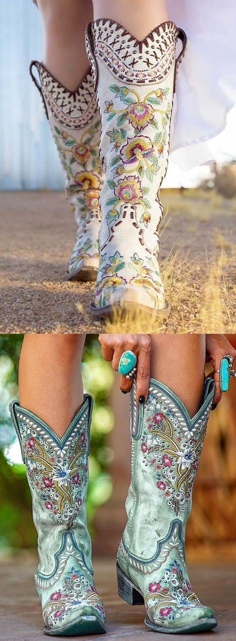 Western Wear, Western Boots, Bling Shoes, Cowgirl Boots, Cowboy And Cowgirl, Cute Boots, Me Too Shoes, Fashion Shoes, Love Hat
