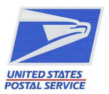 United States Postal Service Logo Embroidery Design In 2020 Embroidery Designs Postal Service Logo United States Postal Service