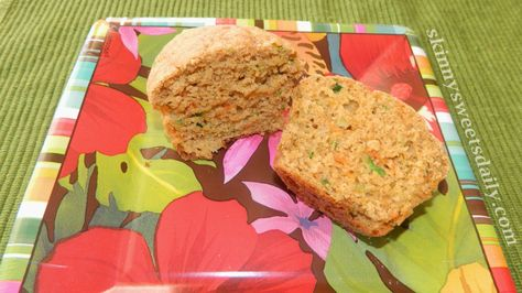 Healthy Zucchini and Carrot Muffins