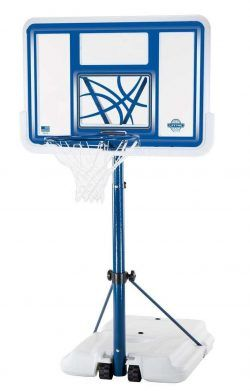 Roll Over Image To Zoom In Lifetime 1306 Pool Side Height Adjustable Portable Basketball System Basketball Hoops Basketball Basketball Systems