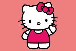 Aneka Mewarnai Gambar Hello Kitty Anak Kucing Hello Kitty Kartun