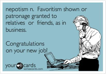 Nepotism In The Newsroom 5 Easy Ways To Cope In A Workplace Coworker Quotes Workplace Work Humor