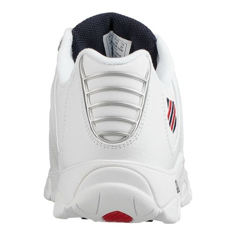 K Swiss Men's ST239 Shoes WhiteRedBlue | Products in