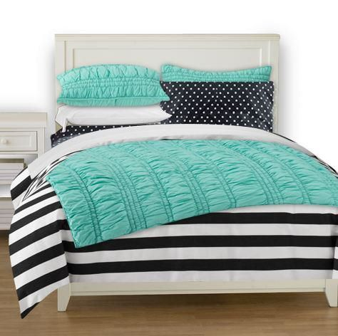 46 Best Teal Black And White Ideas Bedroom Room Decor Turquoise