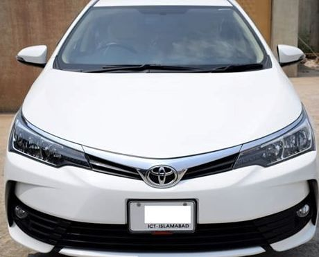 Toyota Corolla Altis 1 6 Automatic Model 2018 For Sale Toyota Corolla Corolla Altis Toyota