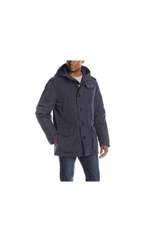 Tommy Hilfiger Men's Poly Twill Full-Length Hooded Parka  Deal Price : 72.41 - 144.99  Buy From Amazon : https://goo.gl/CkjzXE