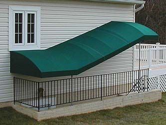 Basement Awnings And Stairway Awnings A Hoffman Stairways