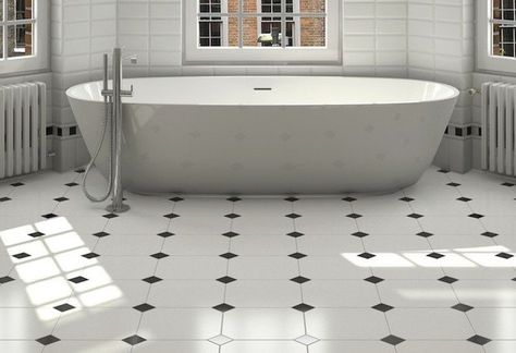 How to Lay Tile in Bathroom DIY Projects Craft Ideas & How To's for Home Decor with Videos