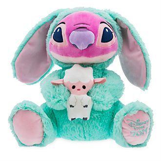 Disney Store Peluche Angel De Paques Taille Moyenne Lilo Et Stitch Peluche Stitch Disney