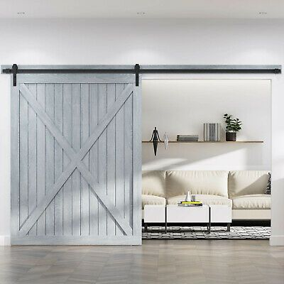 Roymelo 10 12 13 2ft Classic Sliding Barn Door Hardware Barn Door Hardware Barn Door Sliding Barn Door Hardware