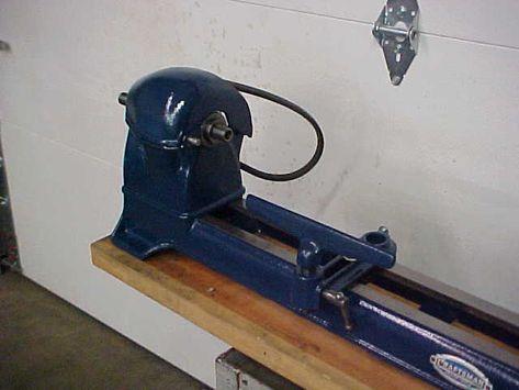 Pre War Craftsman Bench Top Wood Lathe Original Color Of
