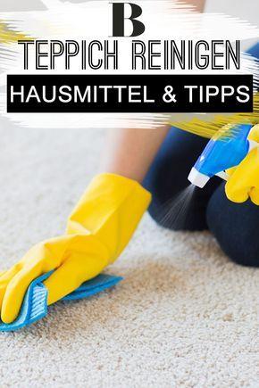 Teppich reinigen: Hausmittel und Tipps | Reinigung | Teppich ...