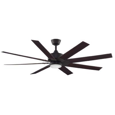 Red Barrel Studio 60 Damiano 7 Blade Ceiling Fan With Wall Remote