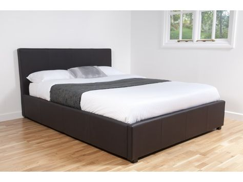 Makayla Leather Bed Frame | Jake\'s Bedroom | Pinterest | Leather bed ...