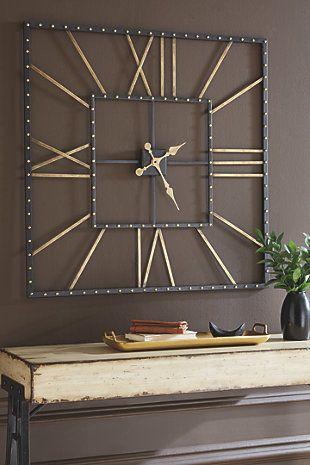 Thames Wall Clock Big Wall Clocks Wall Clocks Living Room
