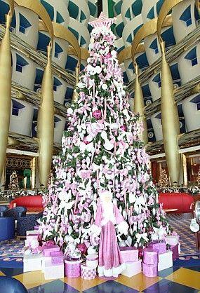 Parties Check Out Time Out Dubai S Gallery Fame Dubai Cool Christmas Trees Pink Christmas Tree Christmas