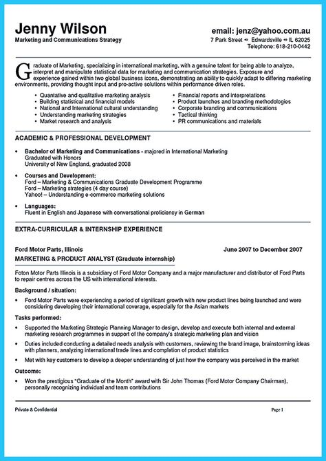 Marketing Executive Resume Template Bond Back Cleaning  Business