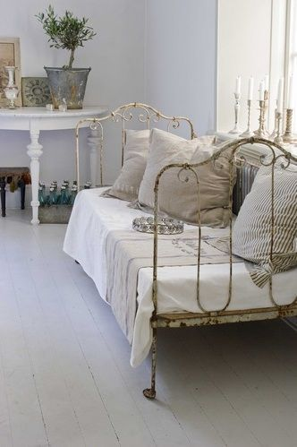 Love these subdued colors,,,Jeanne d'Arc Living - French style with Nordic palette