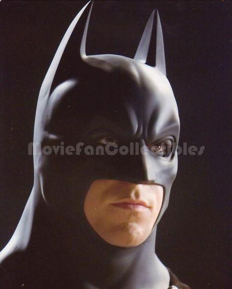 Batman Begins 8x10 Color Photo head glamour shot Christian Bale