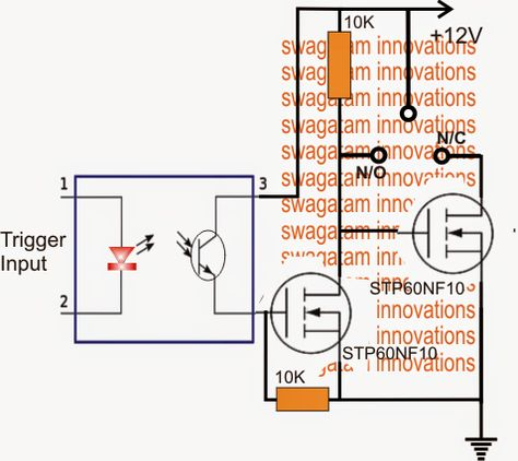 Rele de estado solido circuito