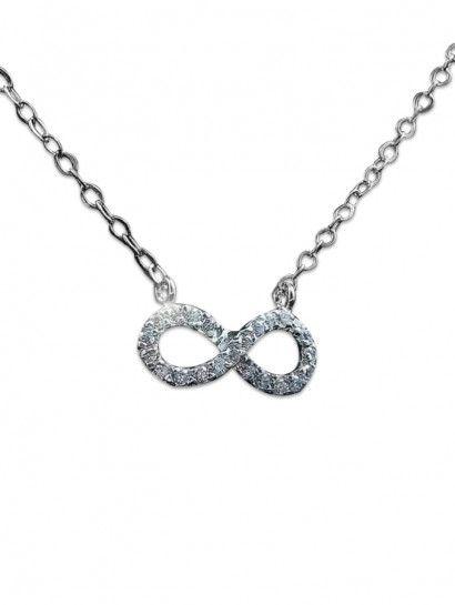 سلسله فضة عيار 925 سلسلة انفينتى فضة ايطالى Silver Jewelry Silver Necklace