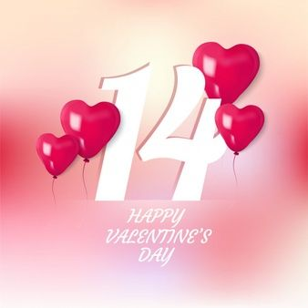 Happy Valentine S Day With 3d Heart Balloon In 2020 Valentines Diy Happy Valentines Day Hand Painted Frames