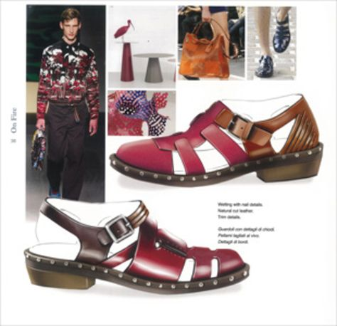 Shoes Trend Book Nº 30 - S/S 2015 - Accessoires/shoes - Styling .