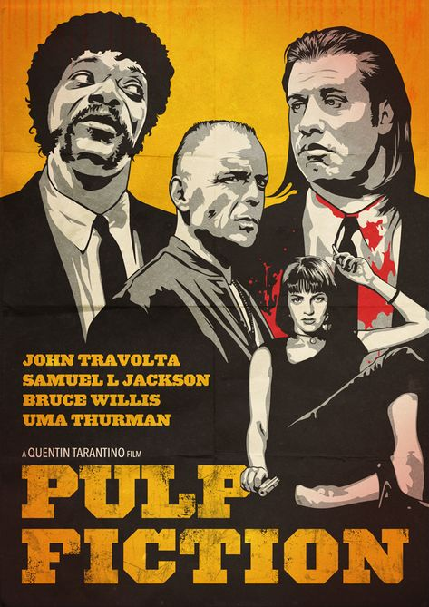an analysis of the general writing in the movie pulp fiction of 1995 directed by quentin tarantino Uma thurman as mia wallace in pulp fiction (1994) is a crime/drama film directed by quentin tarantino wikipedia and contributions from movie fans.